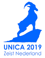 Logo for UNICA 2019.